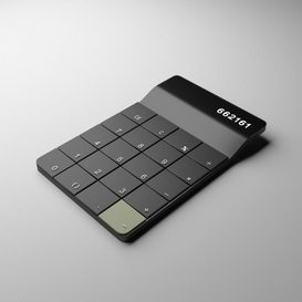 Calculator 3d model Download  Buy 3dbrute