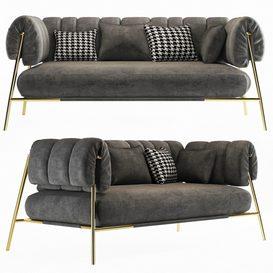 Tirella sofa bonaldo 3d model Download  Buy 3dbrute