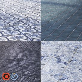 Tiles 3d model Download  Buy 3dbrute