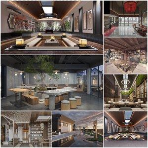 Clubhouse Entertainment vol2 2021 3d model Download  Buy 3dbrute
