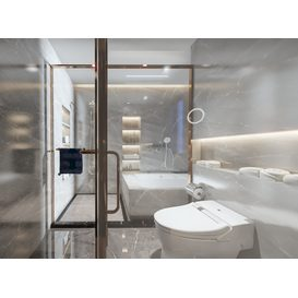 Bathroom Vray 5 3d model Download  Free 3dbrute