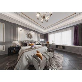 Bedroom Corona 56 3d model Download  Free 3dbrute