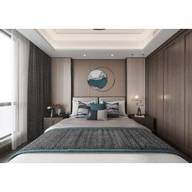 Bedroom Corona 58 3d model Download  Free 3dbrute