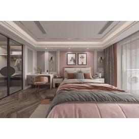 Bedroom Corona 59 3d model Download  Free 3dbrute
