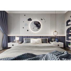 Bedroom Corona 72 3d model Download  Free 3dbrute