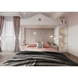 Bedroom Corona 73 3d model Download  Free 3dbrute