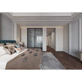 Bedroom Corona 74 3d model Download  Free 3dbrute