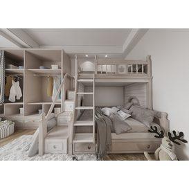 Bedroom Corona 76 3d model Download  Free 3dbrute