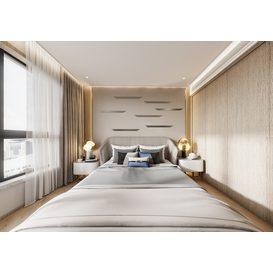 Bedroom Corona 79 3d model Download  Free 3dbrute
