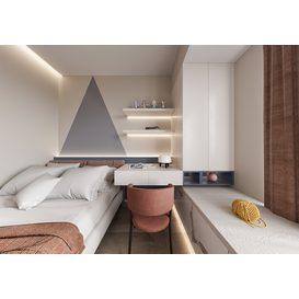 Bedroom Corona 80 3d model Download  Free 3dbrute