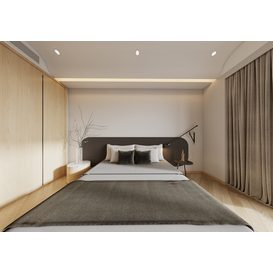 Bedroom Corona 81 3d model Download  Free 3dbrute