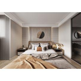 Bedroom Corona 85 3d model Download  Free 3dbrute