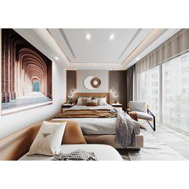 Bedroom Corona 86 3d model Download  Free 3dbrute