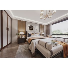 Bedroom Corona 88 3d model Download  Free 3dbrute