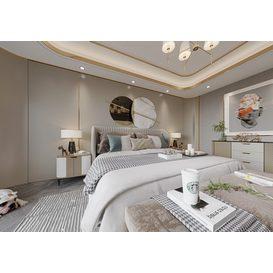 Bedroom Corona 89 3d model Download  Free 3dbrute