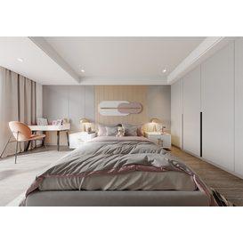 Bedroom Corona 91 3d model Download  Free 3dbrute