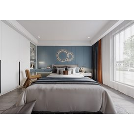 Bedroom Corona 92 3d model Download  Free 3dbrute