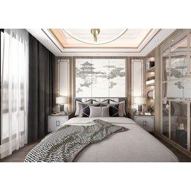 Bedroom Vray 94 3d model Download  Free 3dbrute