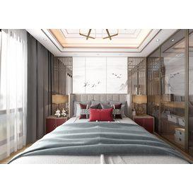 Bedroom Vray 95 3d model Download  Free 3dbrute
