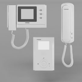 Intercoms Commax 3d model Download  Buy 3dbrute
