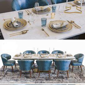 Luxury Ottiu Restaurant 3d model Download  Buy 3dbrute