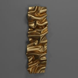 Wall Decor sculpture 3d model Download  Buy 3dbrute
