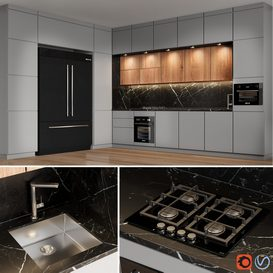 kitchen_02 3d model Download  Buy 3dbrute
