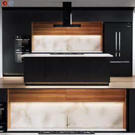 kitchen_01 3d model Download  Buy 3dbrute