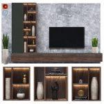 Modern tv wall 07