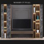 Modern tv wall 04