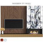 Modern tv wall 13