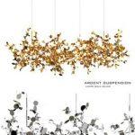 Argent terzani suspension lamps