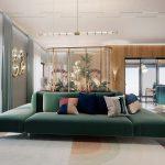 Light luxury wind meets green plant decoration-ultra-high-end fashion sense