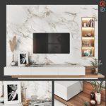 TV Wall Set
