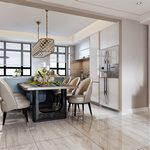 Kitchen & Dining Room A003Modern style 3d66 2018