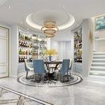 Kitchen & Dining Room A012Modern style 3d66 2018