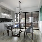Kitchen & Dining Room A014Modern style 3d66 2018