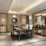 Kitchen & Dining Room B002Postmodern style 3d66 2018