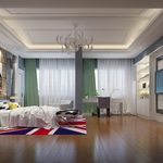 1. Bedroom Modern Style_3d66 2015