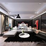 71. Bedroom Modern Style_3d66 2015
