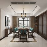 Kitchen & Dining Room C002Chinese style 3d66 2018