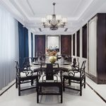 Kitchen & Dining Room C020Chinese style 3d66 2018