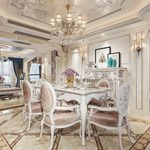 3d66 interior Kitchen & Dining Room European style