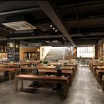 Restaurant & coffee H017Industrial style 3d66 2018