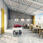 Restaurant & coffee M009Nordic style 3d66 2018