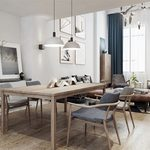 Kitchen & Dining Room M013Nordic style 3d66 2018